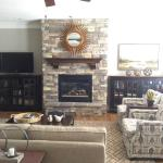 Remodeled Fireplace and Updated Great Room in Alcoa